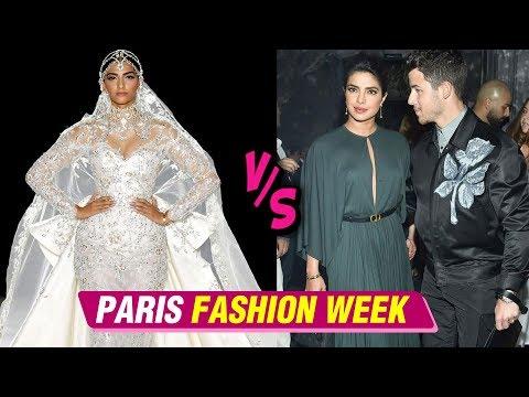 Priyanka Chopra Vs Sonam Kapoor Fashion War At Paris Fashion Week