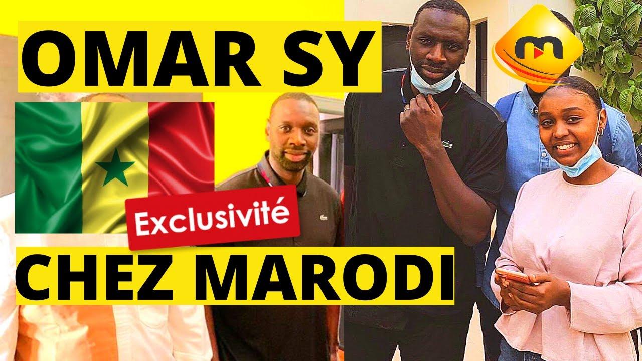EXCLUSIVITÉ: OMAR SY au Sénégal 🇸🇳  CHEZ MARODI TV + Nouvelle série MARODI TV🔥 + Revue série LUPIN🔥