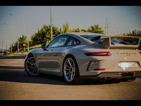 2018 (991.2) Porsche 911 GT3 - 500HP, launch-control start, sick acceleration sound! Stock exhaust.