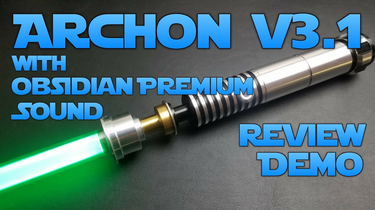 Archon V3 1 From Ultra Sabers With Obsidian Premium Sound