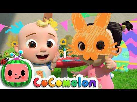 Easter Masks Song   CoComelon Nursery Rhymes & Kids Songs