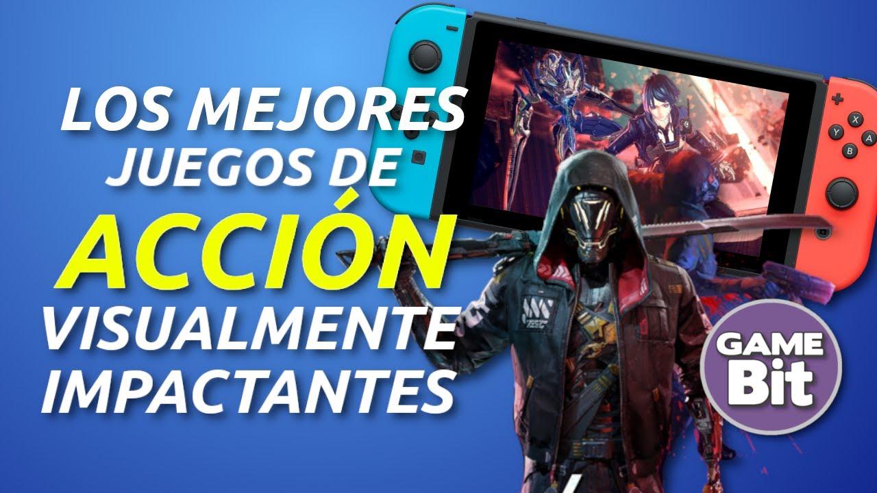 JOYAS DE SWITCH: Los MEJORES juegos de acción GRÁFICAMENTE IMPACTANTES