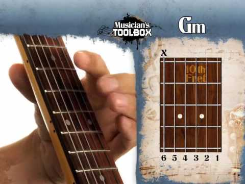 How To Play The Gm Barre Chord On Guitar Gm Bar Chord With The Root