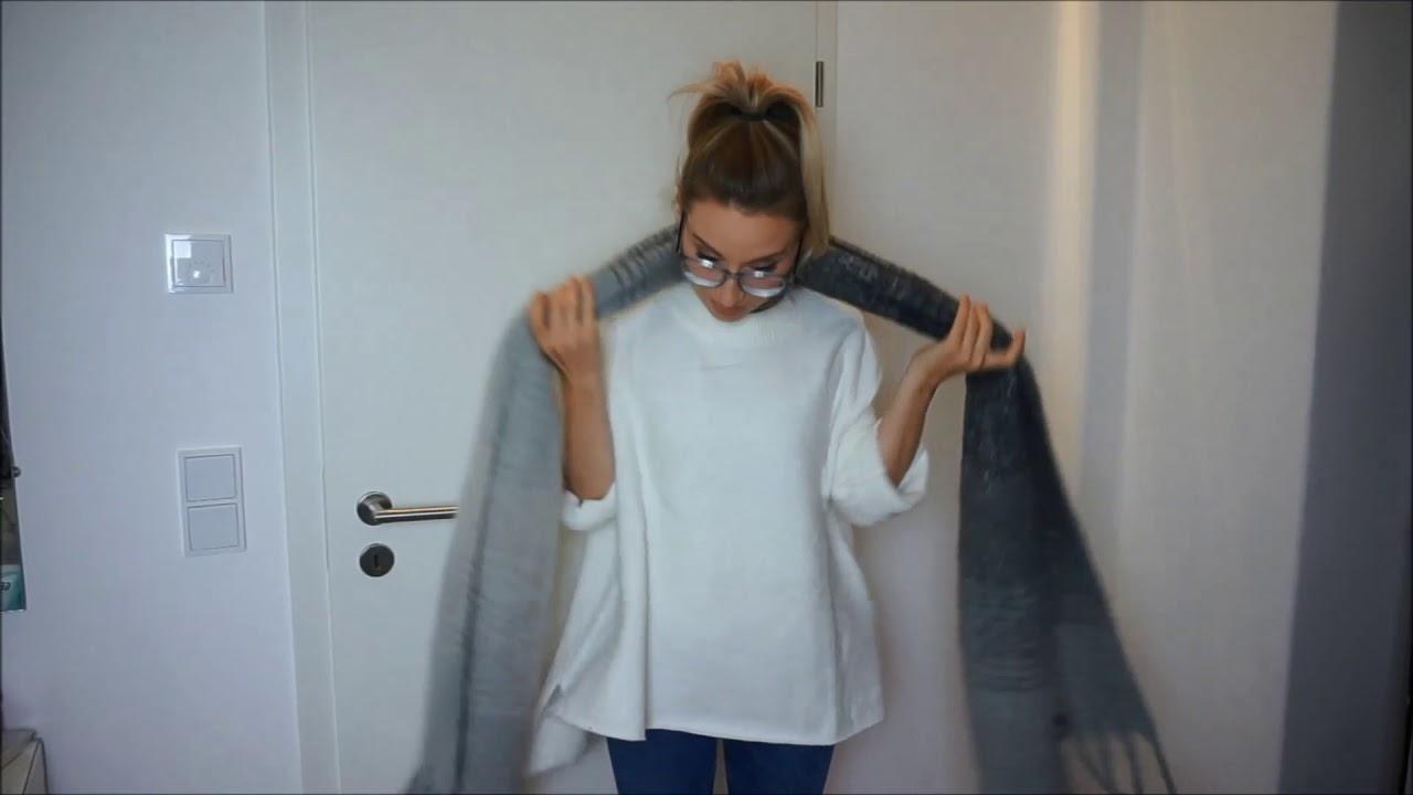 ebfe48579bdfa7 Schal binden leicht gemacht - für Damen - YouTube