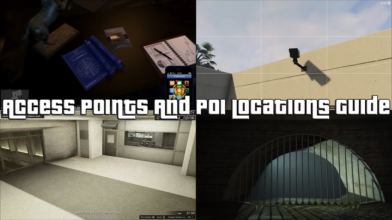 Gta Online Casino Heist Points Of Interest