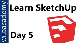 SketchUp Tutorial - 5 - Important Tips