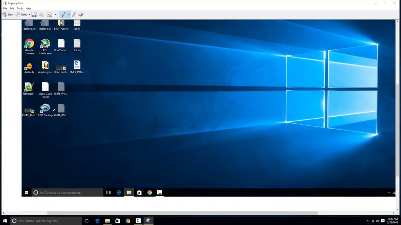 how to take a screenshot in windows 10 youtube