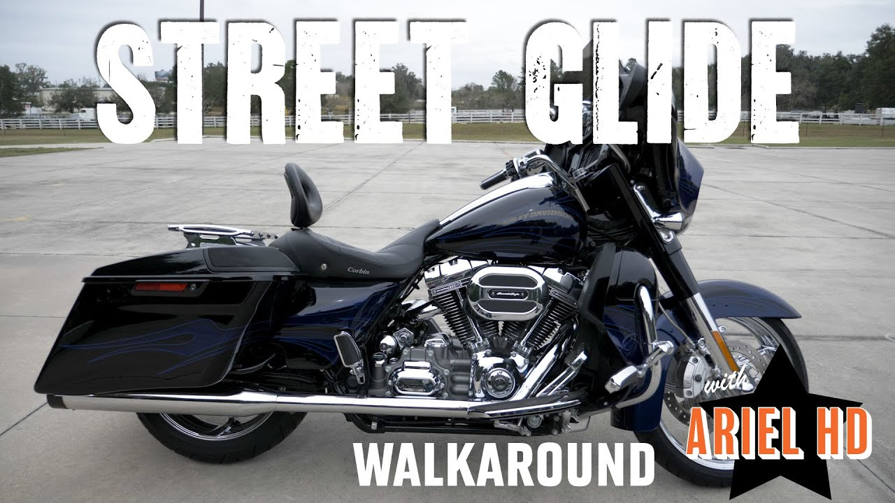 Used Motorcycle For Sale In Florida Harley Davidson 2016 Street Glide Cvo Stock Ud1131