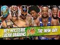Rey Mysterio & Lucha Dragons (Sin Cara & Kalisto) vs. The New Day / WWE 2K16 PC Mods (WWE RAW 2016)