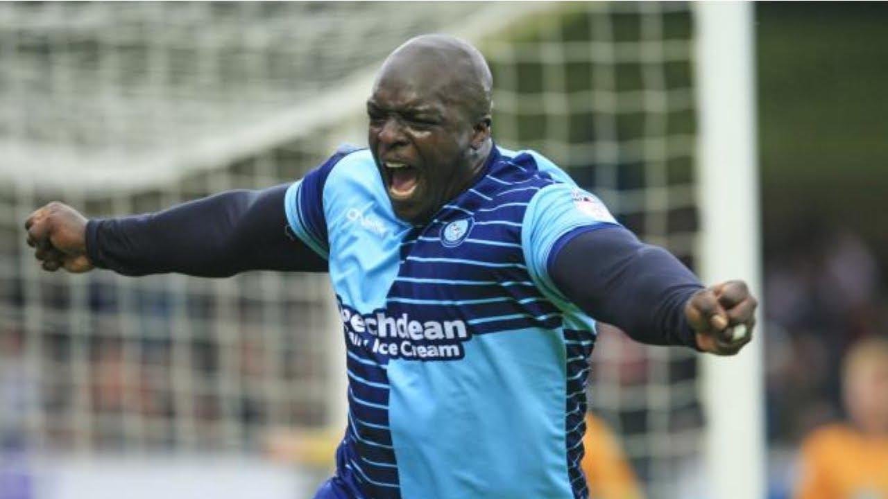 Adebayo Akinfenwa 17 18 Wycombe Goals Youtube