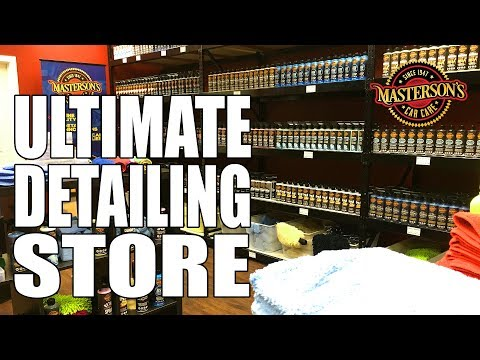 Masterson's Car Care FACTORY STORE TOUR - Detailing Supersto