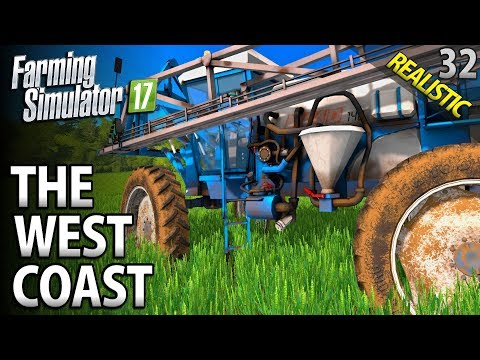 Let's Play Farming Simulator 17 | The West Coast | Episode 3