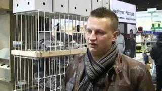 Reportaż z Targów Gołębi Pocztowych EXPOGołębie 2011