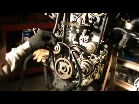 how to replace timing belt on honda prelude 92 96 2 3 lt h23a1 youtube rh youtube com Honda Fit Engine Rebuild YouTube Honda K24 Engine