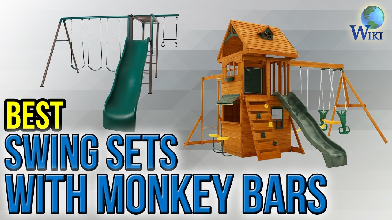 7 Best Swing Sets With Monkey Bars 2017