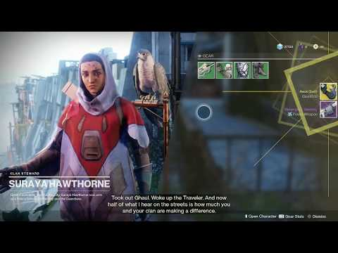 Destiny 2 Get High Power 321 Exotic Gear from Hawthorne