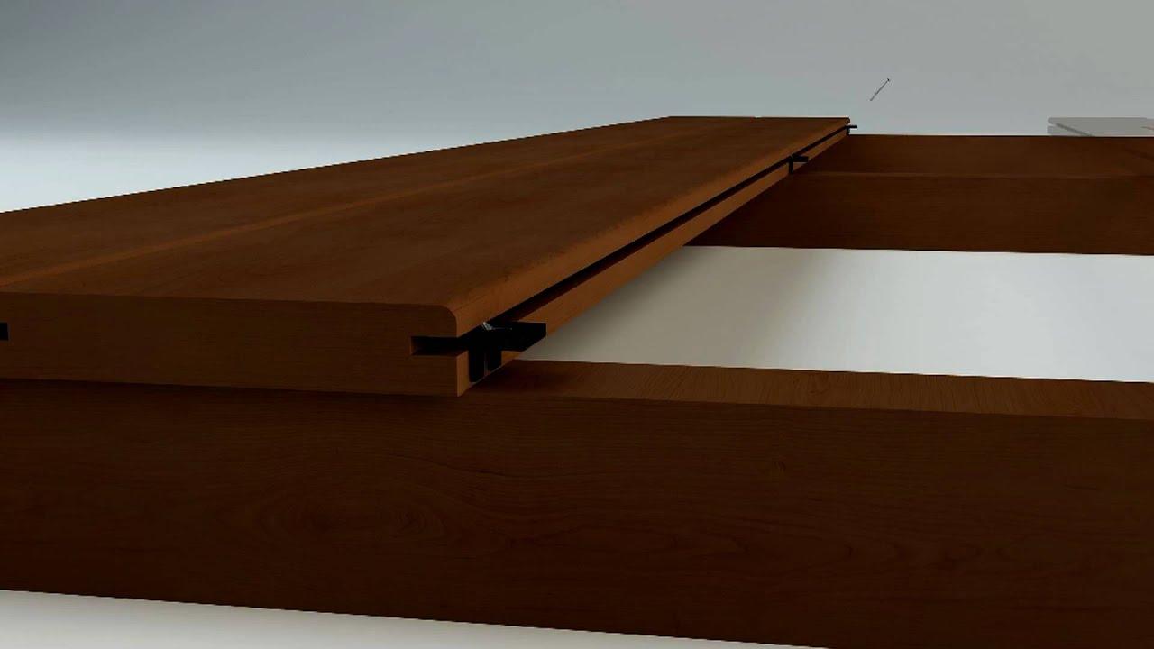 Hardwood Clip Hidden Fastening System For Wood Decks