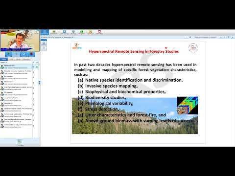 07 Mar 2018 An Overview of Hyperspectral Remote Sensing Applications in Forestry