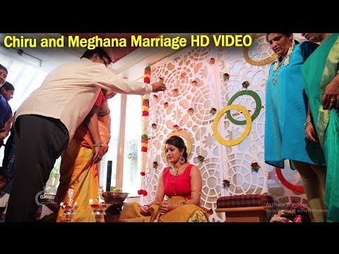 Chiranjeevi Sarja & Meghana Raj Marriage Full HD Video Pat 1 | Top Kannada TV