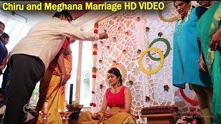 Chiranjeevi Sarja & Meghana Raj Marriage Full HD Video Pat 1 | Top Kannada TV
