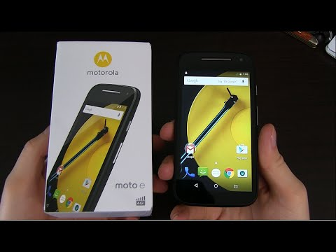 Motorola Moto E (2nd Gen) Unboxing and First Impressions