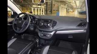 Lada Vesta 2015  Салон : эксклюзивное фото серийной модели