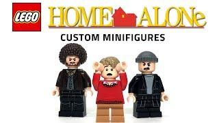 LEGO Home Alone Custom Minifigures - Tutorial