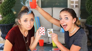 Water War Challenge | Jimmy Fallon | Brooklyn and Bailey