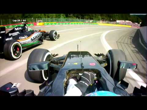 Alonso And Hulkenberg's Pit Lane Clash   F1 is... Always Racing