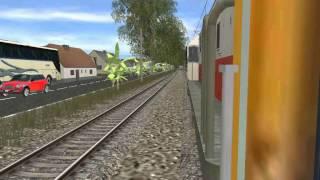 Joyride KA Kalimaya Kebayoran - Tanah Abang ( Trainz Addons Indonesian )