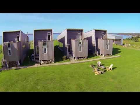 School House And Shobac Cottages, Nova Scotia, Canada