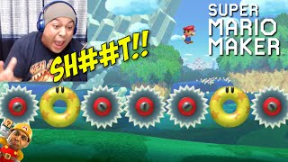 THESE LEVELS GOT ME STUMPED!! [SUPER MARIO MAKER] [#18] thumbnail