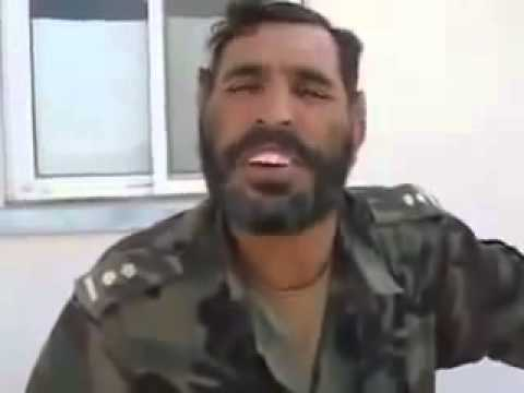 funny Afghan soldier learning English