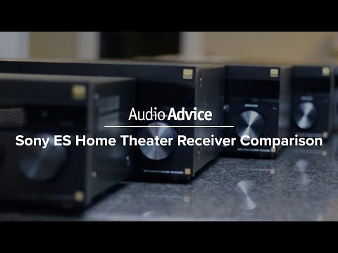 Sony ES Home Theater Receiver Comparison (2017)