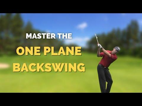 Golf Instruction - One plane backswing