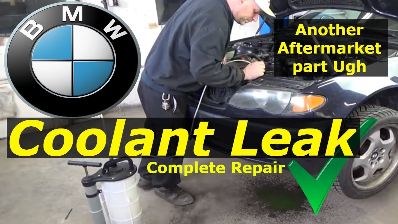 medium resolution of bmw 325i coolant leak diagnose and repair youtube 325xi engine coolant diagram