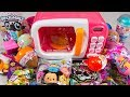 HUGE Magic Microwave Toy Opening Kid Surprise Toys Blind Bags Egg Toys for Girls Kinder Playtime