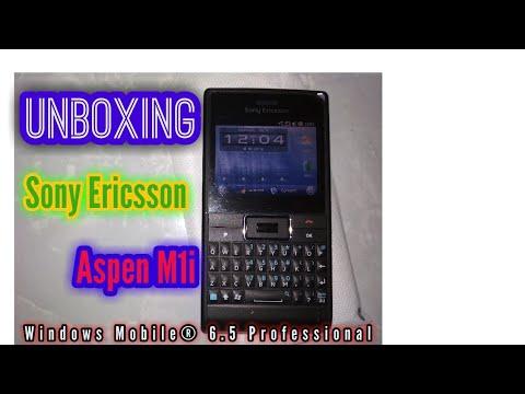 Unboxing Sony Ericsson Aspen M1i