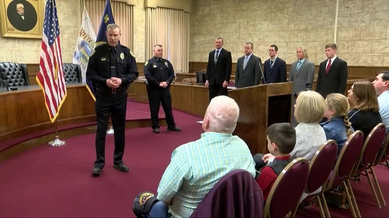 5 new officers sworn into Great Falls Police Department ...