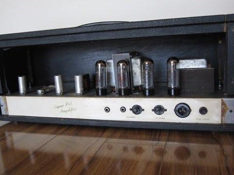 1966 Marshall plexi demo JTM 100 Super Amp MK III