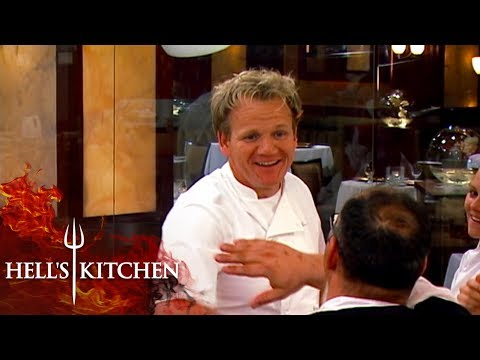 Gordon Ramsay High Fives Chefs Over A Great Service | Hell's Kitchen