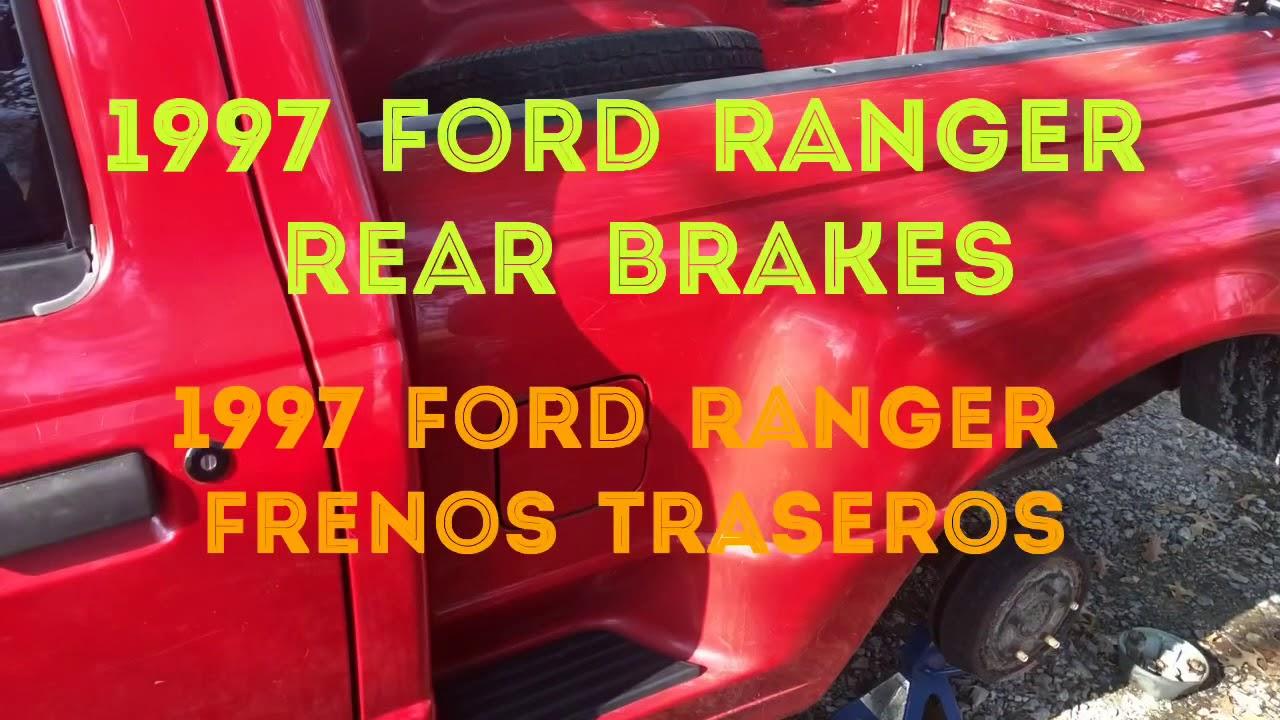 1997 ford ranger rear brakes
