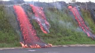 Lava flows in Pahoa - Eruption Update thumbnail