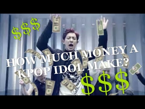 BTS On How Much Money A Kpop Idol Makes (truth From An Actual KPOP Idol) | STORYTIME