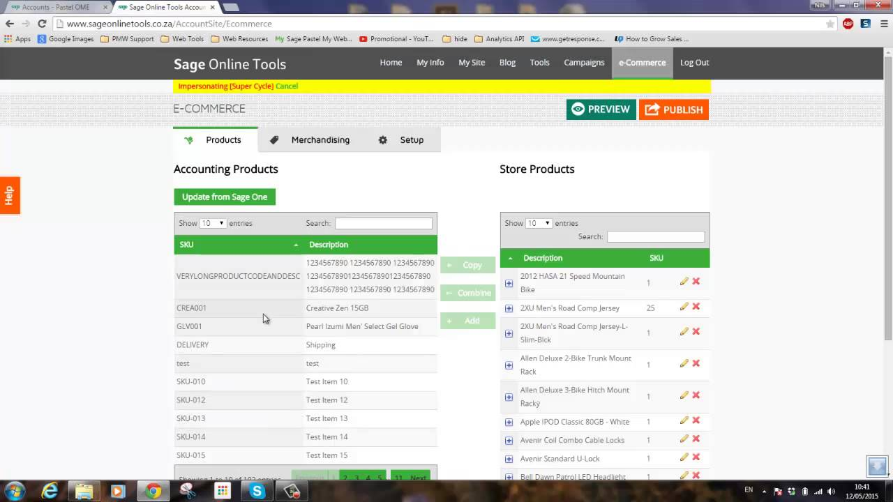 Sage Online Tools Tutorials