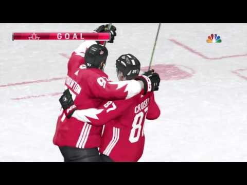 NHL 17 World Cup of Hockey Team Europe VS CANADA