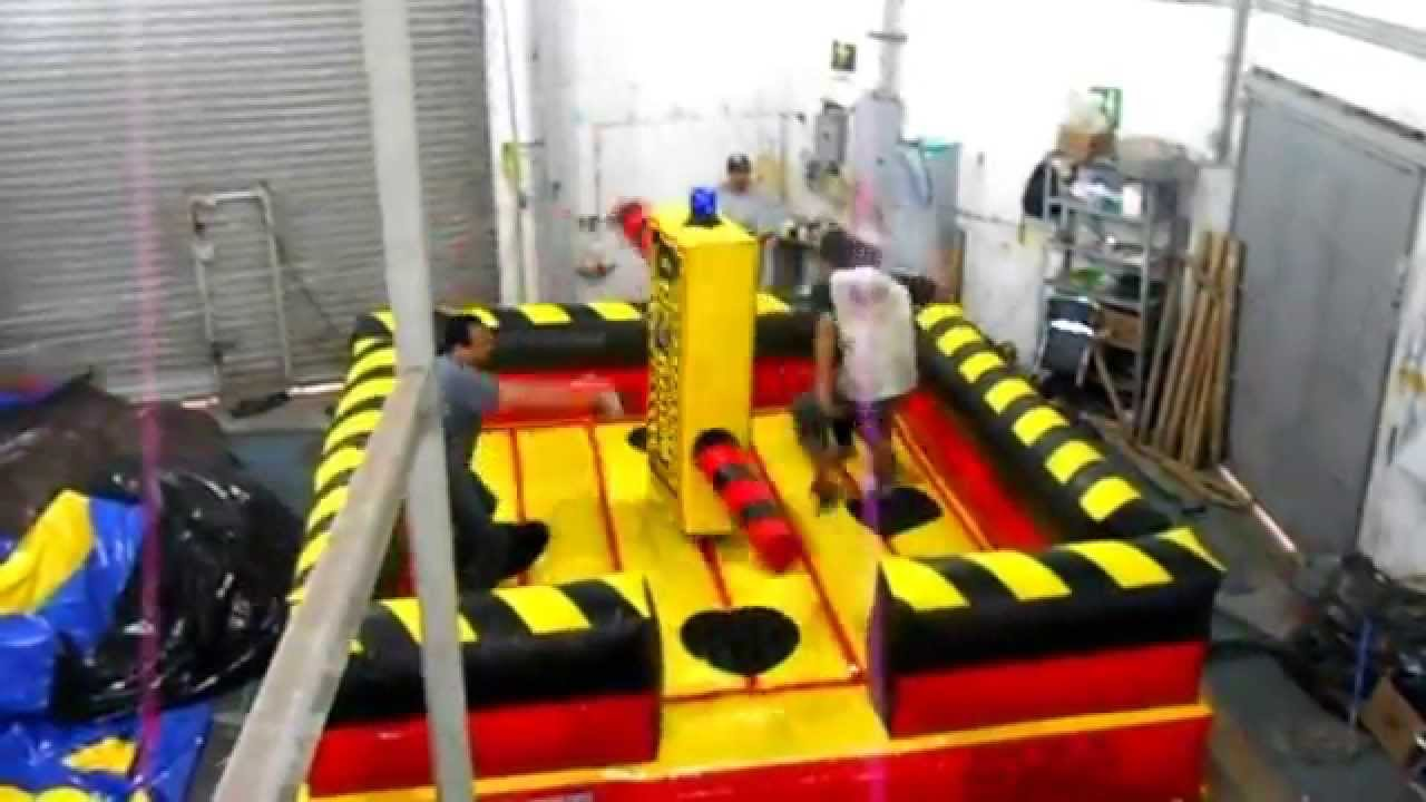 Fabrica de juegos mecanicos inflable up and down youtube for Precios de piscinas inflables para adultos