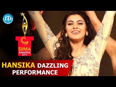 Hansika Dazzling Performance@SIIMA 2013 Awards Function | Telugu