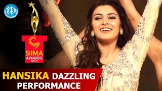 Hansika Dazzling Performance@SIIMA 2013 Awards Function | Telugu