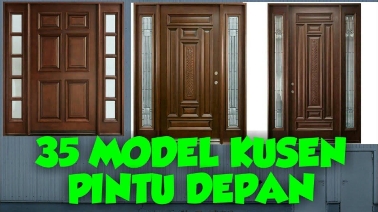 35 Model Kusen Pintu Minimalis Terbaru Duniatukangkayu Dunia Tukang Kayu Youtube Gambar kusen rumah minimalis